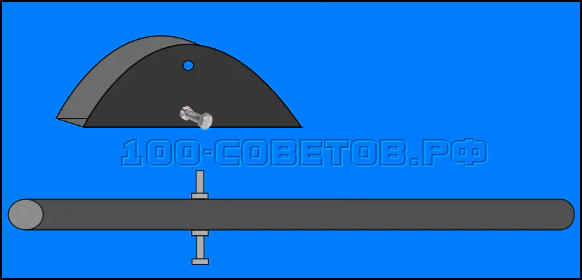 Простой и надежный фиксатор для гаражных ворот