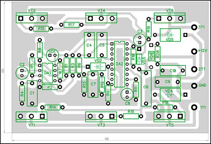 Автомобильный, мощный инвертор 12DC-230AC