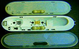 Переделка плафона освещения на LED для Renault Logan и не только