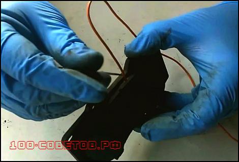 Тормозные колодки с электронным датчиком своими руками