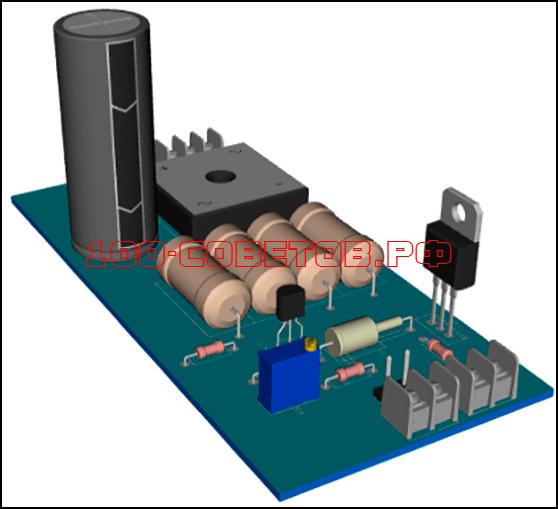 Зарядное устройство-автомат для автомобильного АКБ