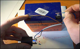 Защита от переполюсовки за 5 минут для зарядного устройства.