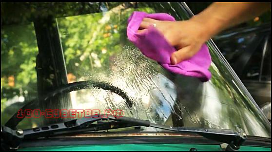 Как просто убрать трещину на лобовом стекле