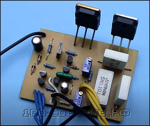 Лабораторный блок питания с регулировкой напряжения и тока