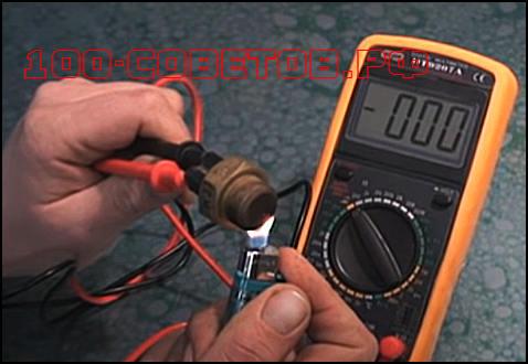 Как проверить датчик температуры, принцип действия.