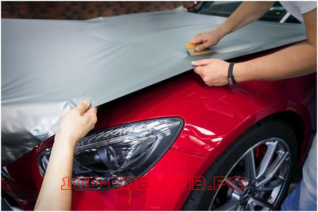Как оклеить машину плёнкой своими руками