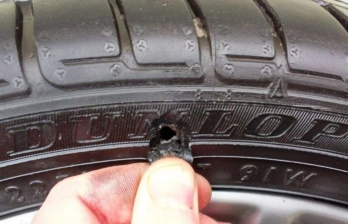 Способы ремонта боковых порезов на шинах