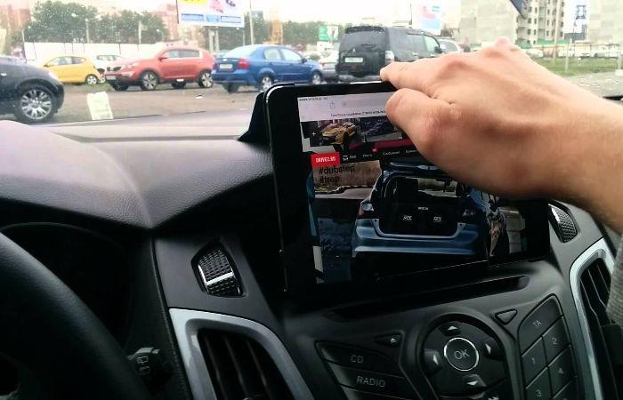 Установка планшета вместо магнитолы в машину