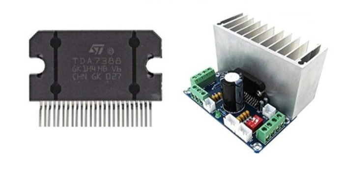 Микросхема TDA7388 для установки усилителя