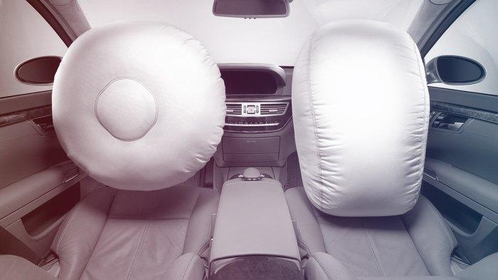 замена подушки безопасности