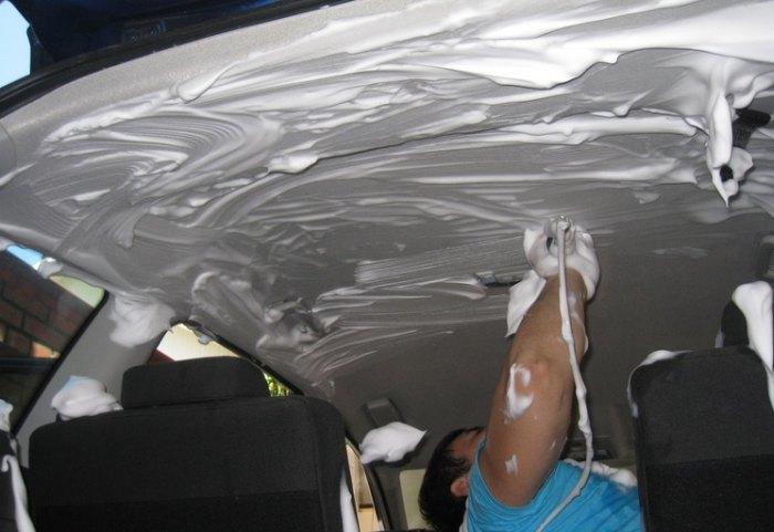 химчистка салона автомобиля своими руками средства какие