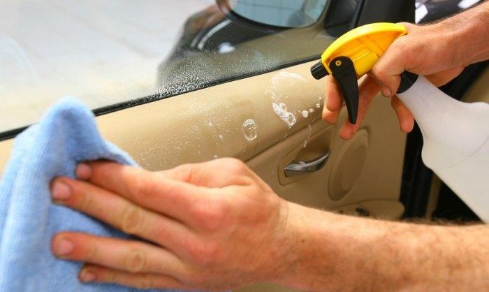 химчистка пластика автомобиля