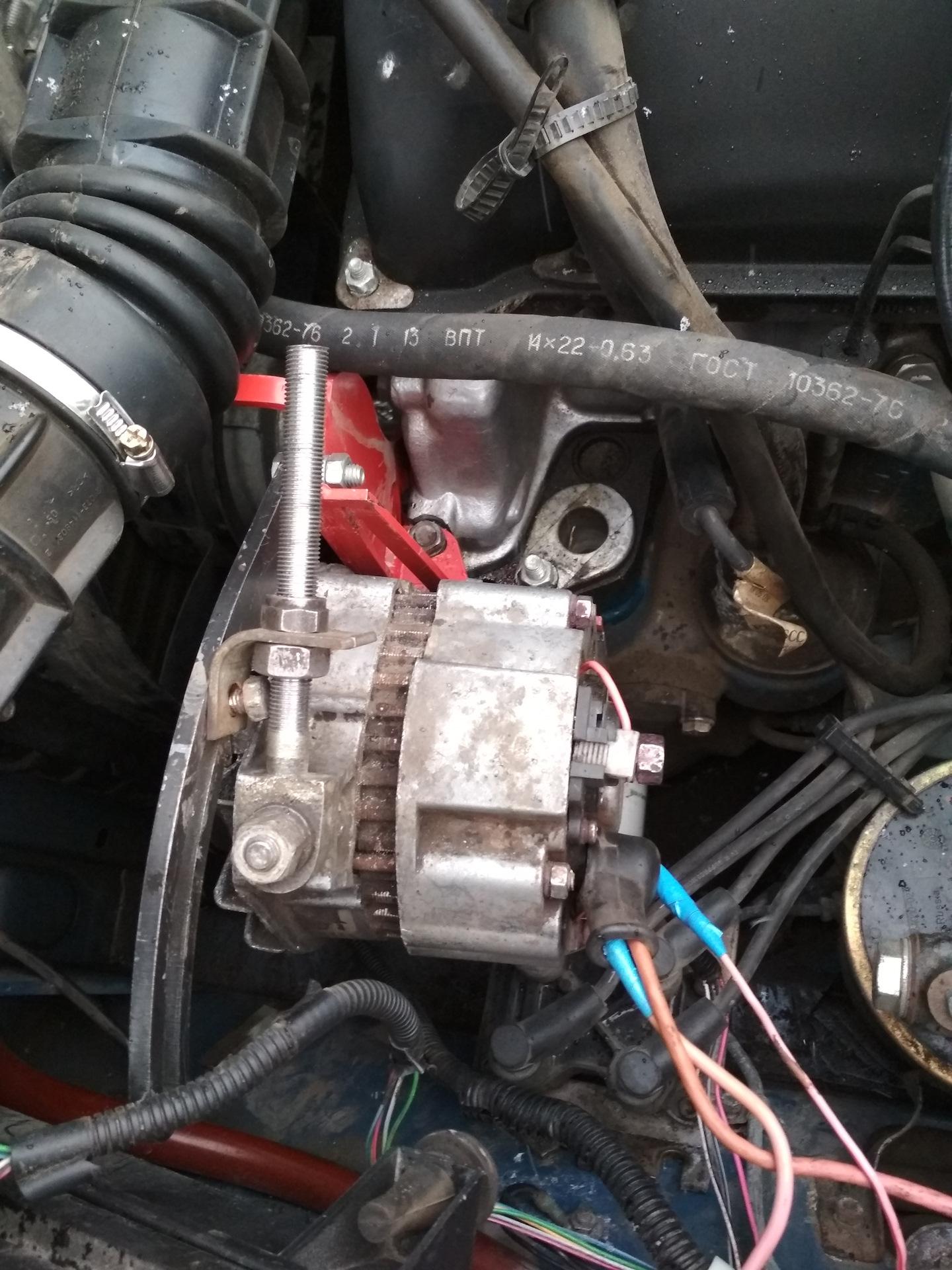 Схемы подключения автомобильного генератора