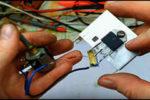 Простой регулятор мощности на 220 Вольт из 5 деталей.