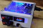Простой лабораторный блок питания из старого компьютерного блока питания.