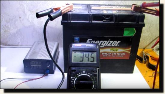 Зарядное устройство из адаптера ноутбуков