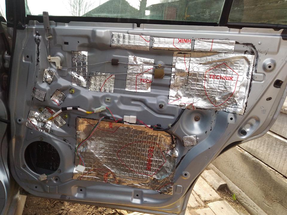 Byd f3 багажника шумоизоляция