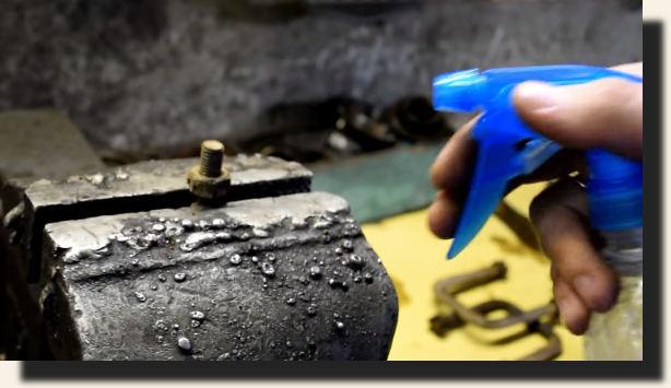 Как сделать жидкий ключ своими руками
